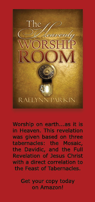 Heavenly Worship Room by Raelynn Parkin